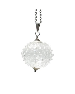 Perla cava in vetro