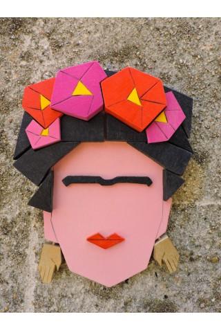 Volto Frida Kahlo